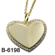 Novo design de moda jóias 925 pingente de prata esterlina com amor