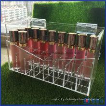 Acryl Lippenstift Holder Case Handgefertigt mit Deckel