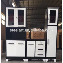 Latest design metal kitchen cupboard for sale with good price