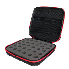 SHBC New wholesale EVA foam travel PU leather essential oil carrying case for packaging