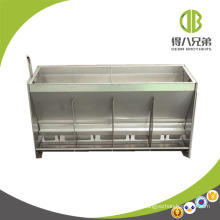 Double Side Stainless Steel Feeder Dry Wet Feeder for Fattening Pig and Nursery Pig