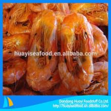 IQF garni de crevettes séchées congelées Vente chaude de fruits de mer congelés
