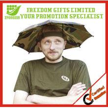 Top Quality Logo Printed Children Umbrella Hat