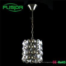 Lámpara Moderna Grande Cristal Colgante Iluminación