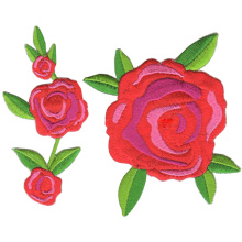 Custom Flower 3D Plant Embroidery Badges