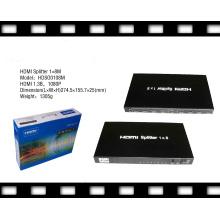 3D pris en charge 1080P 1X8 HDMI Splitter