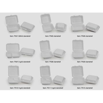 Грязевые коробки из сахарного тростника / Бумажная целлюлозная посуда
