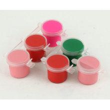Factory selling 10ml 3-Strip Pots Wholesale Acrylic Paints