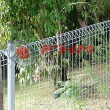 PVC Galvaniserad Rulle Staket BRC Fence