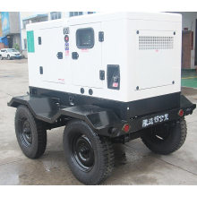 Remove Trailer Type Diesel Electric Silent Generator Set with Four Wheels (15kVA-500kVA)