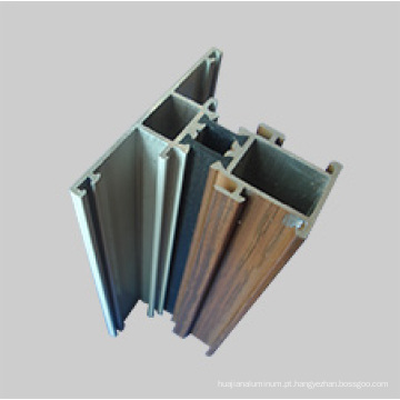 sistema de janelas e portas de perfil de alumínio
