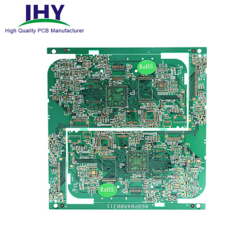 Rigid ENIG Gold Finger Plating PCB Board With RoHS