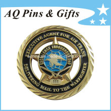 Custom Promotion Commemorative Gold Coins (coin-077)