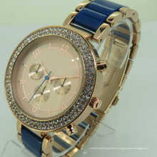 Роскошные Кварцевые тип и материал сплава наручные часы с Водонепроницаемый