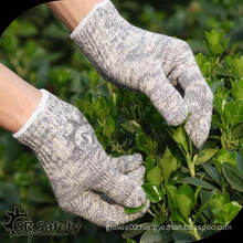 SRSAFETY 7G Cheap Cotton knitted gloves/knitted hand gloves palm