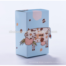 Food biodegradable box paper meal box wholesale custom logo design biodegradable paper candy box for candy