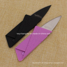 2016 heißes Verkaufs-Kreditkarte-Messer-faltendes Messer-Taschen-Messer
