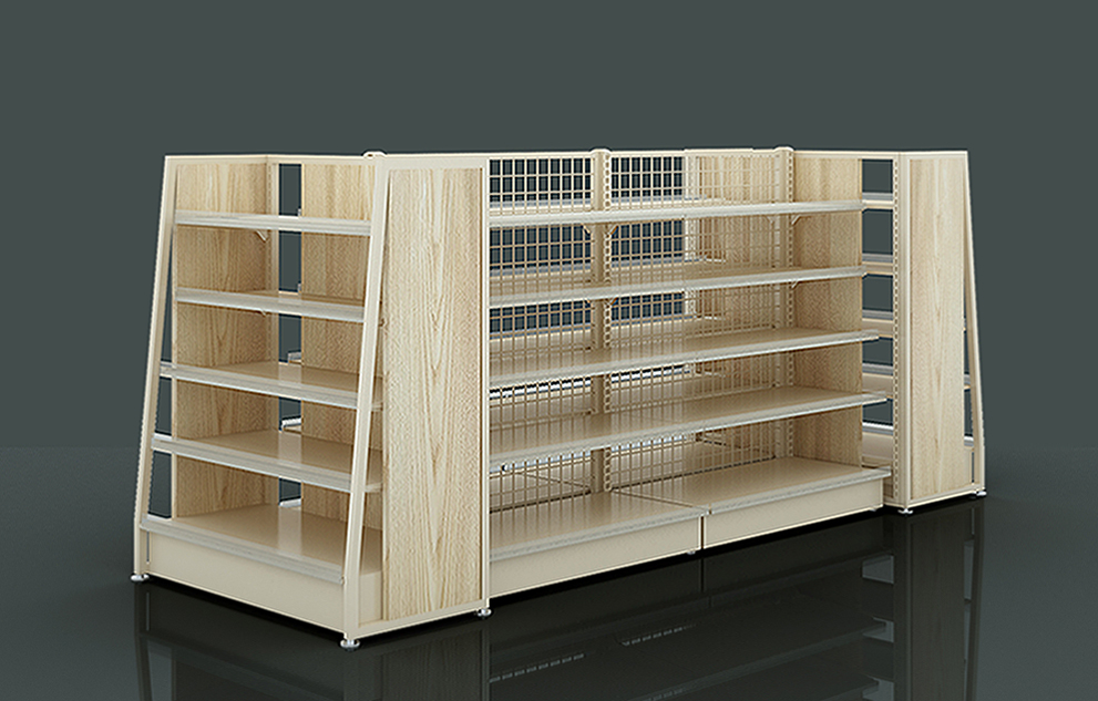 Steel Wood Shelving Units