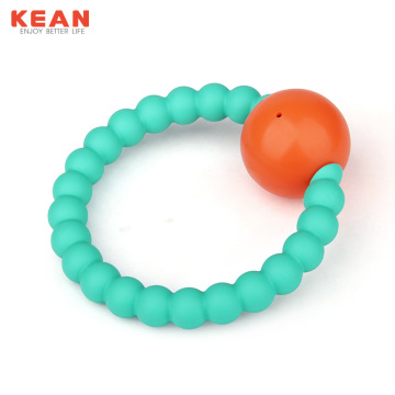 I-BPA yama-Silicone Teether Baby Rattle