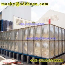 800M3 HDG galvanized/galvanizing steel modular water storage tank