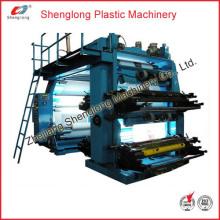 Machine d'impression flexographique en plastique à film / imprimante Flexo (WS884-1000ZS)
