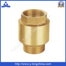 Garantie de qualité Pompe à eau Vanne de retenue en laiton avec noyau en laiton (YD-3002)