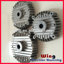 customized die casting motorcycle engine body auto parts