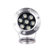 precio de fábrica suministro 7W luz al aire libre bajo el agua