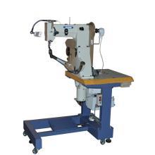 Máquina de coser de suela de costura lateral de doble hilo sentado para zapatos decorativos