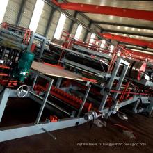 Meilleur prix EPS rockwool mousse toit mur sandwich panneau plaque de production ligne / panneau composite rouleau formant la machine