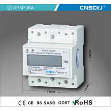 Actualización remota Medidores de energía trifásica en carril DIN para supervisar paneles de distribución