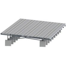 10 MW Solarstrom-Stataion Solarpanel Bodenbefestigungsstruktur