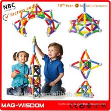Jumbo Magnetic Builders for Kids SmartMax Max Sticks Bars