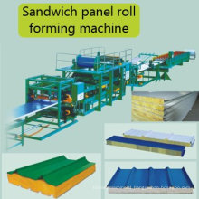 Hky Sandwich Wall Panel Roll Forming Machine