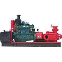 Bomba Diesel de alta presión contra incendios