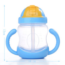 baby sippy cup baby bottles training cup straw bottle with a handle