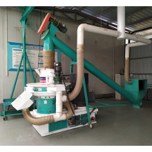Granule à bois biomasse 1-2t / h