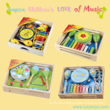 Pädagogisches Kindergarten Holz Baby Musical Spielzeug
