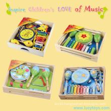 Educational Kindergarten Wood Baby Musical Toy
