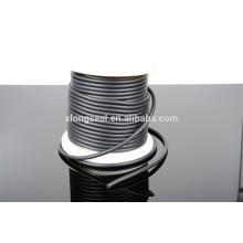 Cordon de cordon en caoutchouc noir de qualité supérieure et bon marché