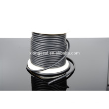 Cheap top quality black rubber necklace cord