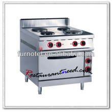 K408 Stainless Steel With Oven Electric Hot Plates Cooker