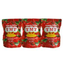 Pasta de tomate orgánica de la bolsita 70g con la marca de alta calidad de Tmt
