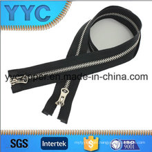 # 5 Two Sides Open Metal Zipper with Y Teeth
