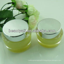 Oval Acrylic Cream Jar applied in Cosmetic Packaging