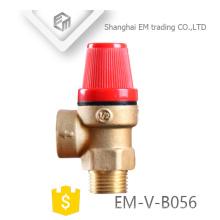 Válvula de segurança do queimador de gás da caldeira de relevo de bronze da alta qualidade EM-V-B056