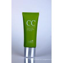 Tubo cosmético plástico para el envasado de crema