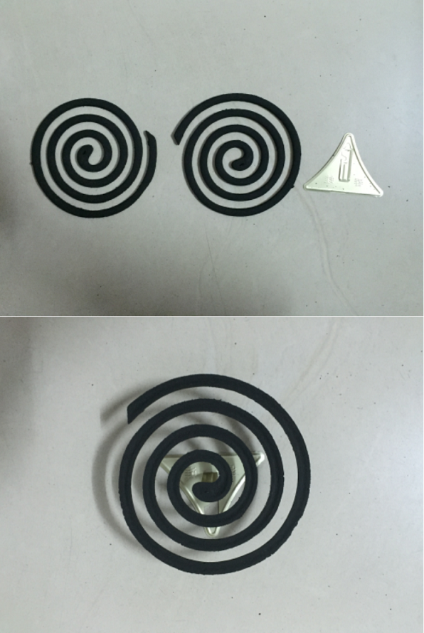 Mosquito coil Direction 2