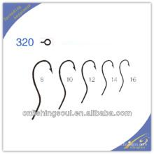Ganchos de pesca con anzuelo de acero con alto contenido de carbono FSH007 320
