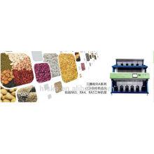 Завод лучшего качества, высоко оценил сортировщик цветных кофейных зерен / сортировочную машину по цвету, в основном импортированные детали